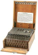 Rare German Three-Rotor Enigma Encoding Machine