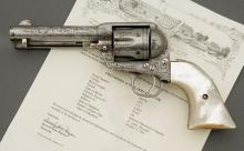 Factory Engraved Colt Single Action Army Revolver