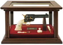 Exceptional and Rare Colt John Wayne Commemorative Presentation Model Single Action Army Revolver