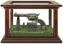 Wonderful Colt John Wayne Commemorative Deluxe Model Single Action Army Revolver