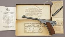Colt Woodsman Target Semi-Auto Pistol