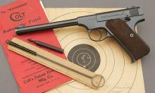 Colt Woodsman Target Model Semi-Auto Pistol