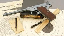 Lovely Colt Woodsman Target Model Semi-Auto Pistol
