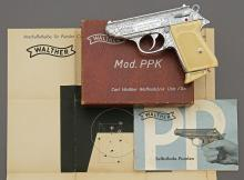 Rare Factory Engraved Walther PPK Semi-Auto Pistol