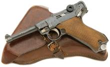 German P.08 Luger Pistol by Erfurt