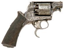 Interesting Adam's & Tranter Patent Two-Trigger Percussion Revolver