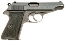 Walther PP Semi Auto Pistol with Waffenamt Markings
