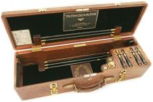 Very Fine Black Walnut Two-Gun Double Barrel Shotgun Case
