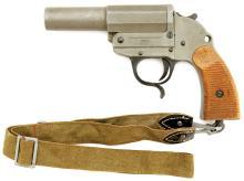 Scarce Walther M43 Zinc Flare Pistol