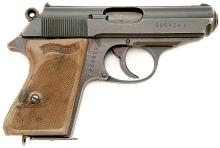 German Police-Marked Walther PPK Semi-Auto Pistol