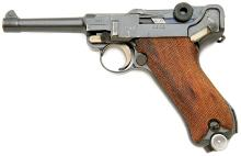 German P.08 Weimar / Nazi Police Luger Pistol by DWM with Hannover Police Markings