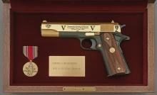 America Remembers World War II Victory Tribute Commemorative Model 1911A1 Semi-Auto Pistol by Colt