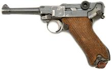 German P.08 Luger Pistol by DWM with Unit Markings