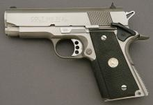 Custom Colt Officers Model Semi-Auto Pistol