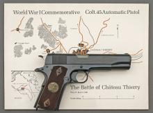 Colt WWI Chateau-Thierry Model 1911 Commemorative Semi-Auto Pistol Set