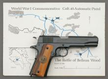 Colt WWI Belleau Wood Model 1911 Commemorative Semi-Auto Pistol Set