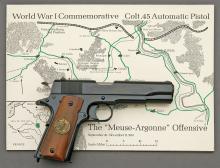 Colt WWI Meuse-Argonne Model 1911 Commemorative Semi-Auto Pistol Set