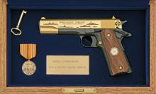 Colt Model 1911 WWII Pacific Naval Theater Commemorative Pistol