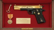 Colt Model 1911 WWII Marine Pacific Theater Commemorative Pistol