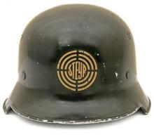 Interesting German Fire Helmet