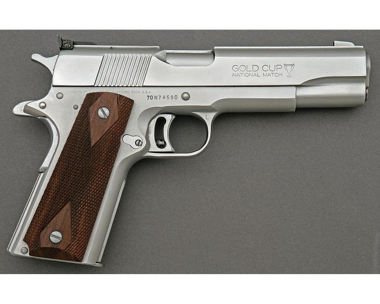 Sold Price Colt Gold Cup National Match Semi Auto Pistol June 6 0118 9 00 Am Edt
