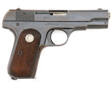 U.S. Model 1908 Pocket Hammerless Semi-Auto Pistol by Colt