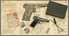 Exceptional Remington Model 51 Semiautomatic Pistol