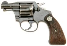 Colt Bankers Special Revolver with Boston P.D. Markings