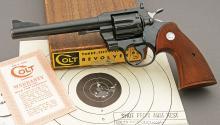 Early Colt Special Order .357 Magnum Revolver