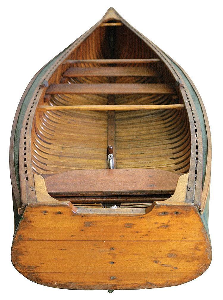 Old Town Square Stern Sponson Model Canoe