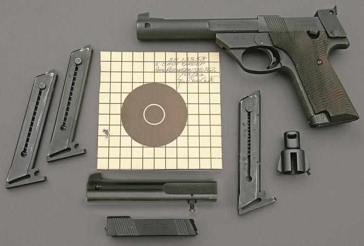High Standard 10-X Semi-Auto Pistol