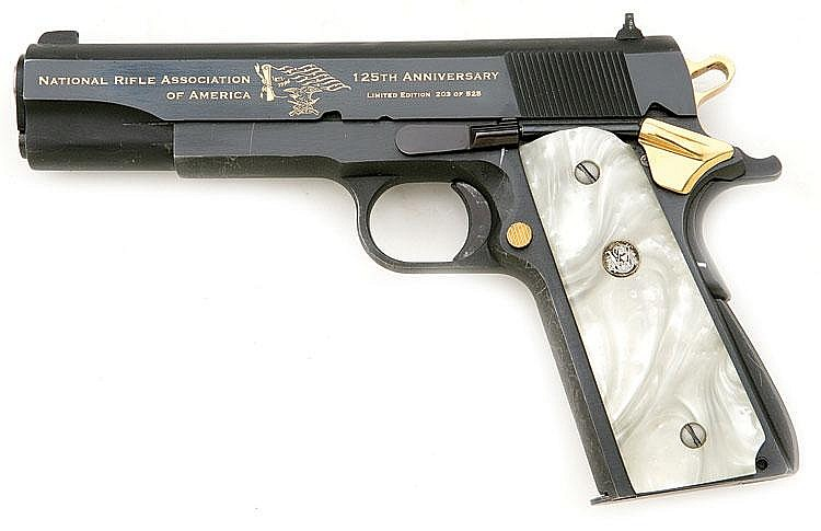 Springfield Armory model 1911 NRA 125th Anniversary Commemor