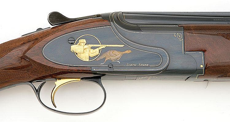 Unique Browning Bicentennial model state of Massachusetts su