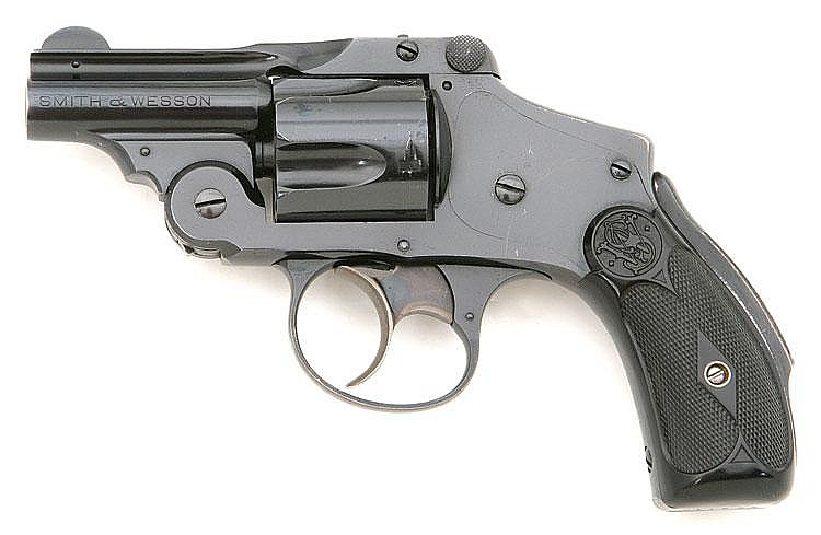 Smith & Wesson 38 Safety Hammerless Fifth Model