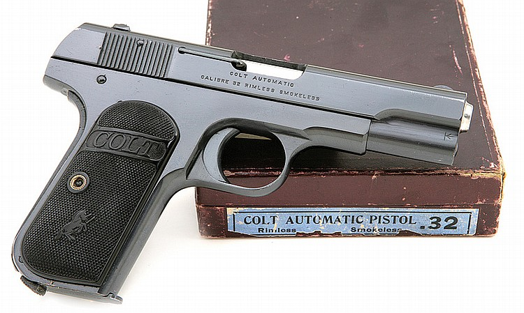 Colt Model 1903 Pocket Hammerless semi-Auto Pistol