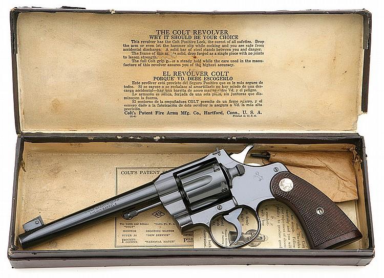 Colt Officer's Model Target Revolver