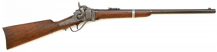 Sharps cartridge converted new model 1863 carbine issued to the New York veteran volunteer cavalry
