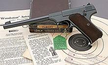Exceptional Colt Woodsman Target 1st Series Semi Auto Pistol