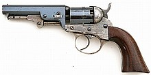 Bacon Manufacturing Company Second Model Percussion Pocket Revolver