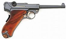 Swiss model 1906 Luger pistol by Waffenfabrik Bern