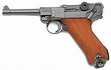 German P.08 Mauser Banner police model Luger