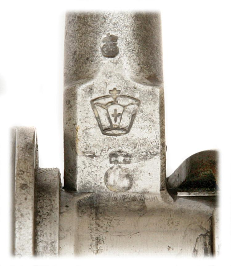 8mm Mauser Follower Imperial German 98 GEW Crown Marked with Serial no.