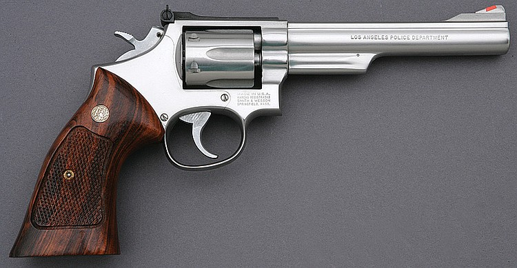 Smith & Wesson model 68-2 LAPD double action revolver