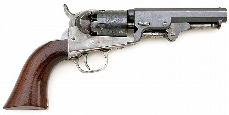 Superb Colt Model 1849 Pocket Revolver