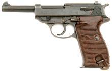 Late War German P.38 Semi Auto Pistol with FN Slide