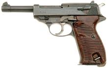 Late-War German P.38 Semi Auto Pistol by Walther