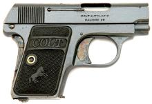 Colt Model 1908 Vest Pocket Hammerless_Semi Auto Pistol