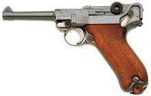 German Luger 1920 Commercial Model Pistol by DWM