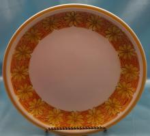 Vintage Chop Platter by Ceramic Guild Esperanto in Sleepy Hollow Pattern and