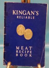 Vintage 1946 Kingman's Reliable Meat Recipe Book